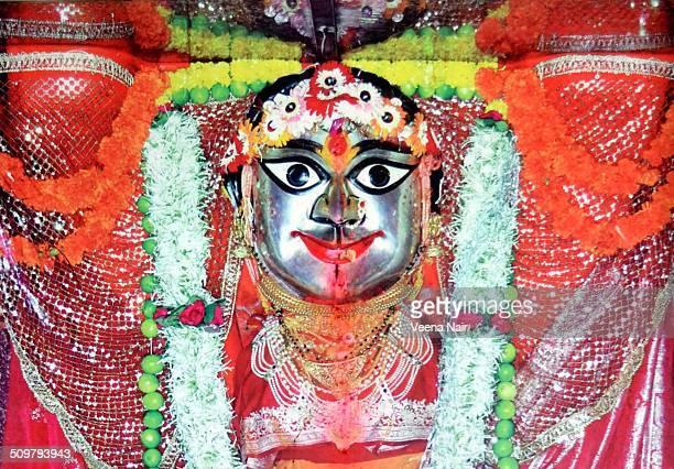 goddess durga-navratri-durga puja - hindu god stock photos and pictures
