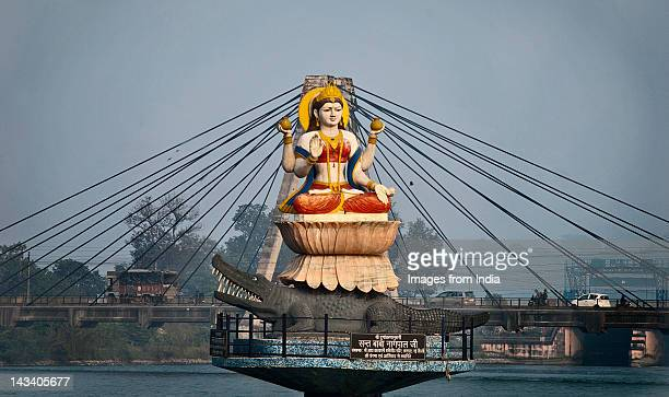 goddess ganges - haridwar stock pictures, royalty-free photos & images