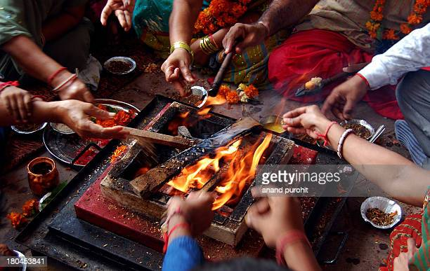 Goddess Gayatri Yagna In its gross form, Yagna is a spiritual experiment of sacrificing and sublimating the havana saamagri in the fire accompanied...