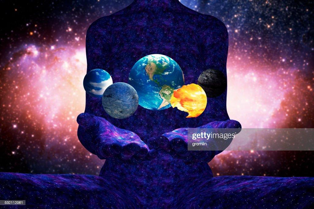 Goddess of Creation : Stock Photo