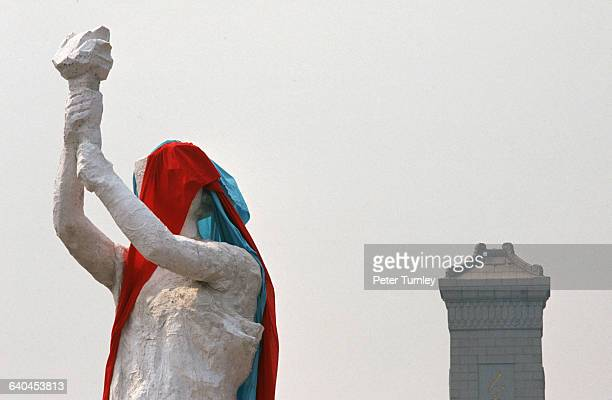 Goddess of Democracy with Head Covered