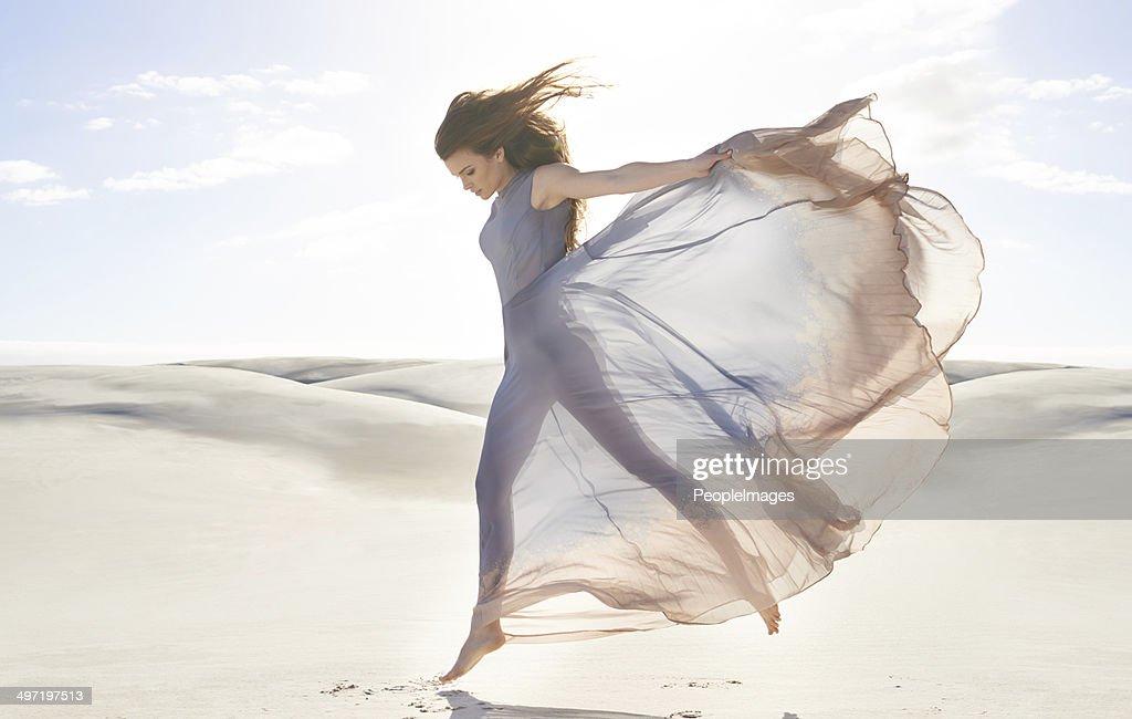 Goddess of freedom : Stock Photo