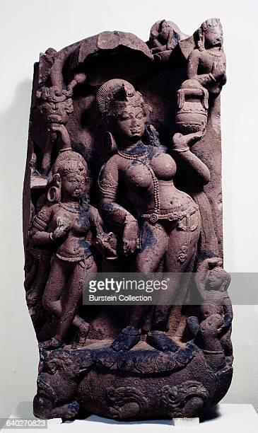 Goddess of River Yamuna Sculpture