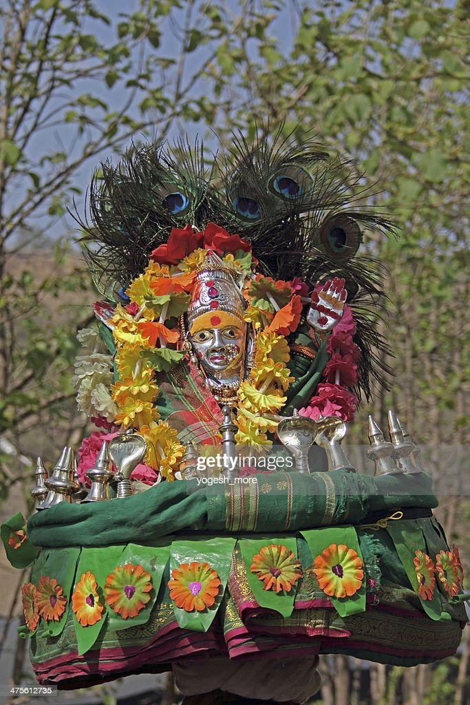 Goddess Renuka Yellamma Devdasi Fair High Res Stock Photo