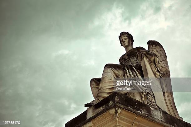 goddess statue - statue stock pictures, royalty-free photos & images