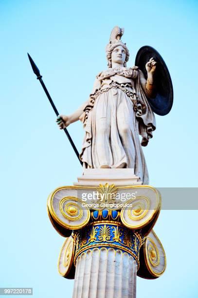 Godess Athena & God Apollo Academy of Athens
