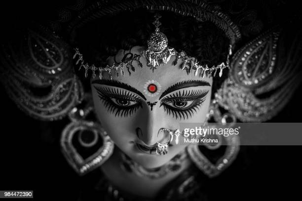 godessess durga - animal body part stock pictures, royalty-free photos & images