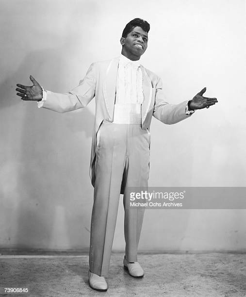 'Godfather of Soul' James Brown poses for a portrait in 1956 in New York New York