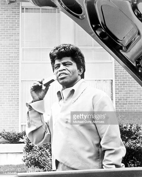 Godfather of Soul James Brown poses for a portrait in circa 1964