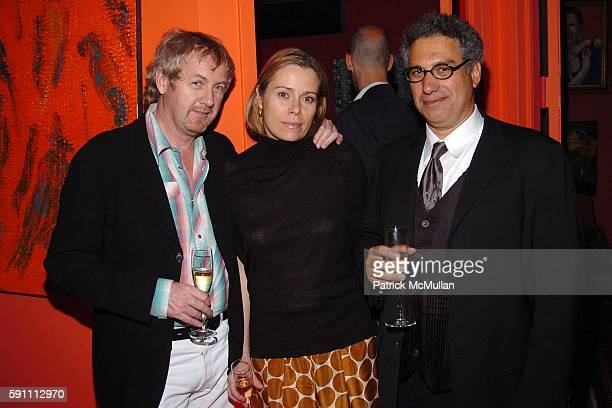 Godfrey Deeny Kerstin Schneider and Bob Morris attend Carlos Miele Padma Lakshmi host a Secret Afterparty honoring The Tribeca Film Festival the...