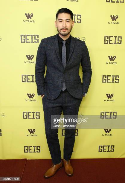 Godfrey Gao attends Global Entertainment Industry Summit at the Manhattan Center on April 9 2018 in New York City