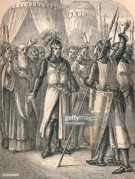 Godfrey's Recovery, 1869. Godfrey of Bouillon , medieval Frankish knight and one of the leaders of the First Crusade from 1096 until his death. From...