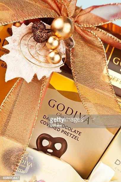 Godiva Chocolate Gift Basket