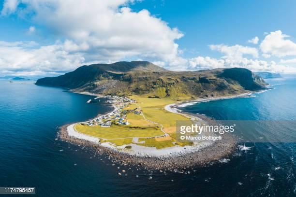 godoya island, alesund, norway - peninsula stock pictures, royalty-free photos & images