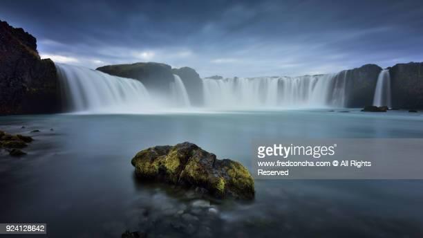 Godqfoss waterfall in Iceland