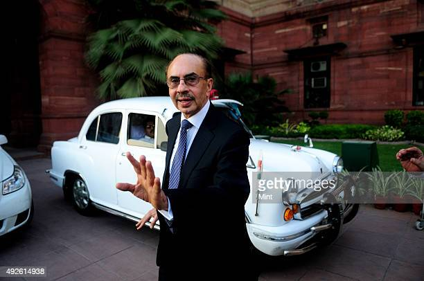 Godrej group chairman, Adi Godrej after meeting with Finance Minister P Chidambaram on October 4, 2012 in New Delhi, India. As of 2015, he is the...