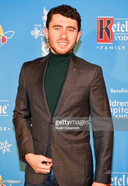 Godrey Flax attends the Children's Hospital of Los Angeles Christmas In September Toy Drive at The Abbey on September 24 2019 in West Hollywood...