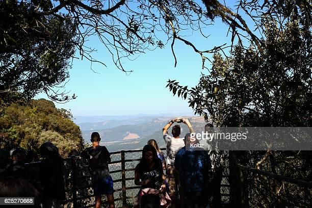 gods window views - escarpment stock pictures, royalty-free photos & images