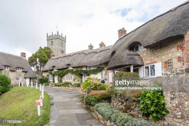 godshill - isle of wight stock pictures, royalty-free photos & images