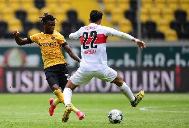 DEU: SG Dynamo Dresden v VfB Stuttgart - Second Bundesliga