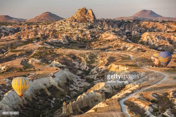 Goereme Aerial View, Cappadocia, Turkey