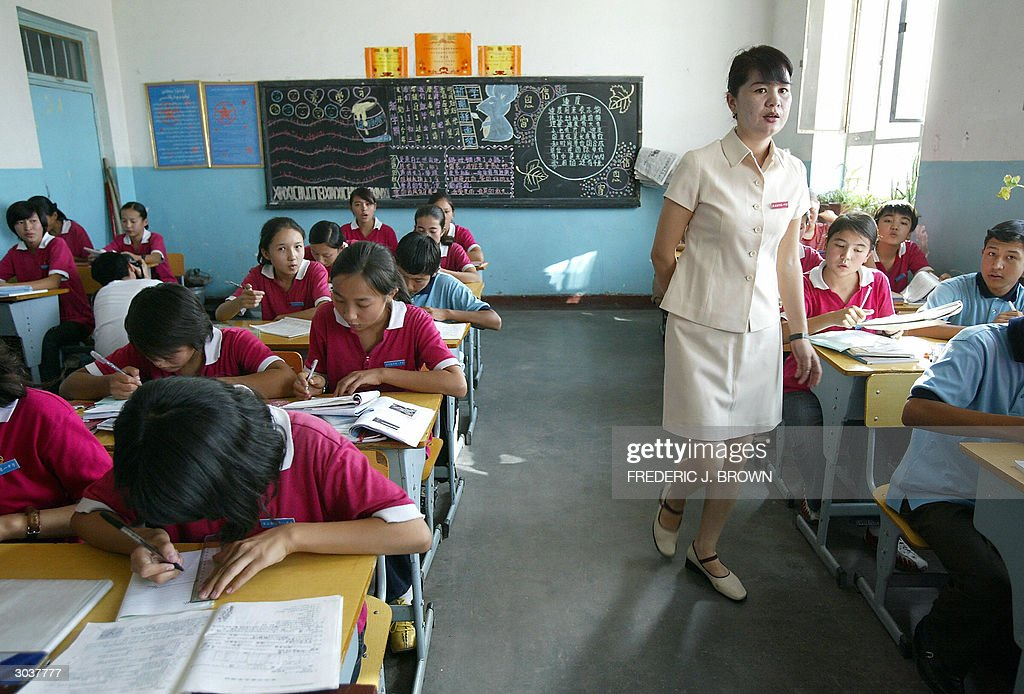 goes w/ CHINA-XINJIANG-EDUCATION Uighur : News Photo