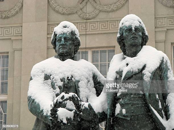 Goethe and Schiller, Weimar