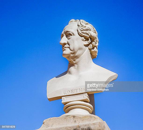 Goethe bust at Palacio de Estoi