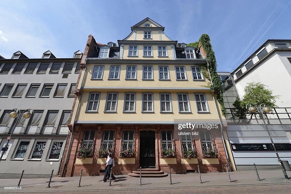 Goethehaus Grosser Hirschgraben Frankfurt am Main