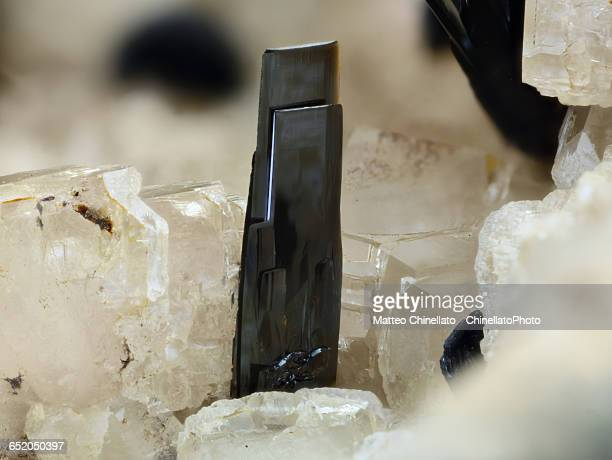 goethite mineral - fluorite stock pictures, royalty-free photos & images