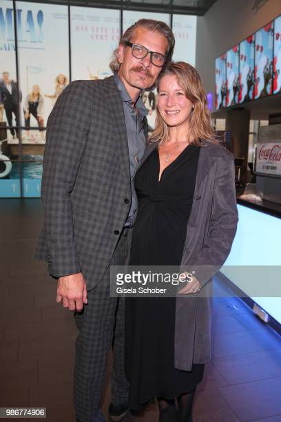 Goetz Otto and his wife Sabine Otto during the opening night of the Munich Film Festival 2018 at Mathaeser Filmpalast on June 28 2018 in Munich...