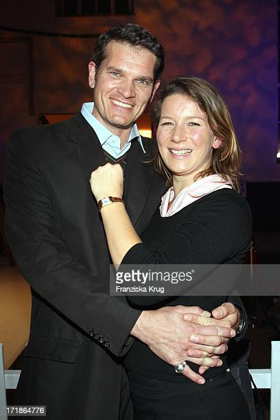 Goetz Otto and wife Sabine At Launch The Watch Reverso Squadra Lady from JaegerLecoultre In The University riding school north Munich