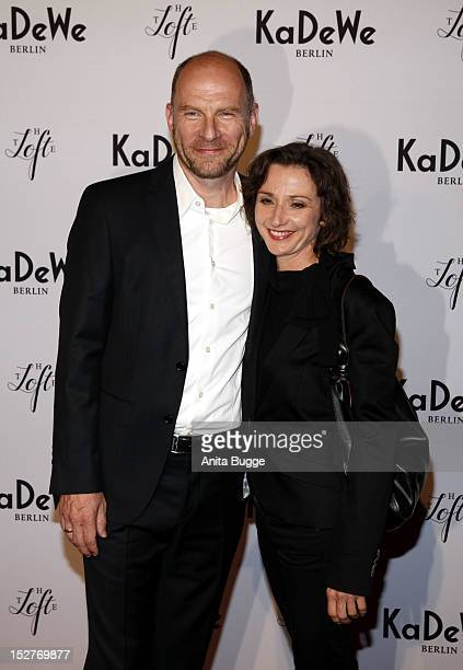Goetz Schubert and his wife Simone Witte attend the KaDeWe Grand Opening on September 25 2012 in Berlin Germany