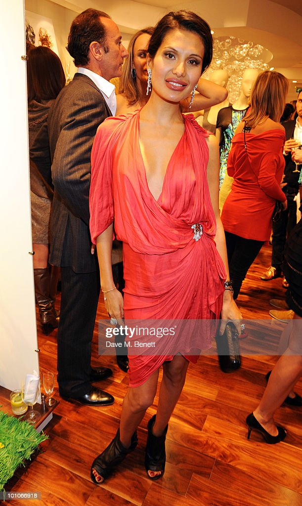 Goga Ashkenazi attends the store opening of BCBGMAXAZRIA on May 27, 2010 in London, England.