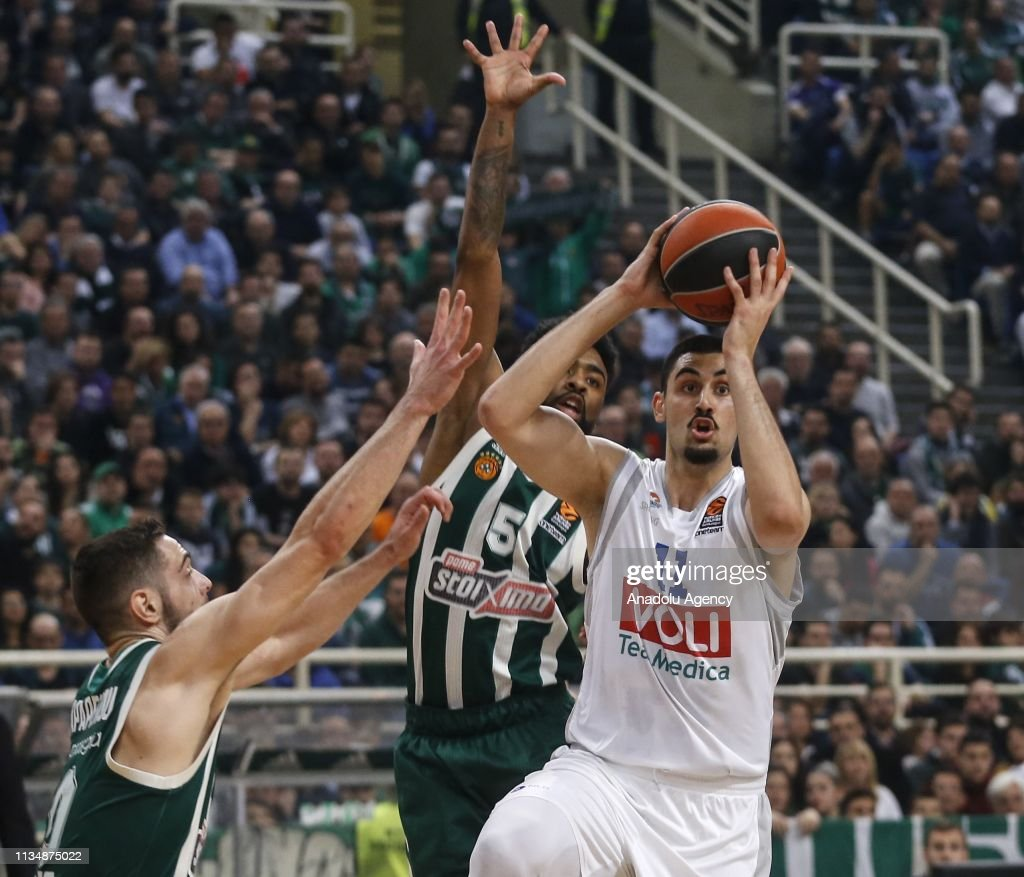 Panathinaikos vs Buducnost VOLI: Turkish Airlines Euroleague : News Photo