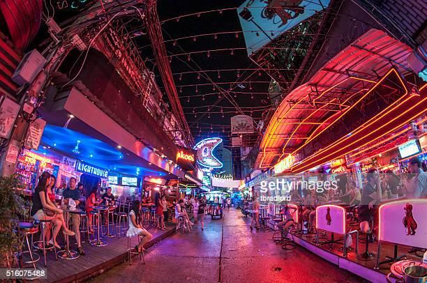 GoGo Bars In Soi Cowboy, Bangkok, Thailand