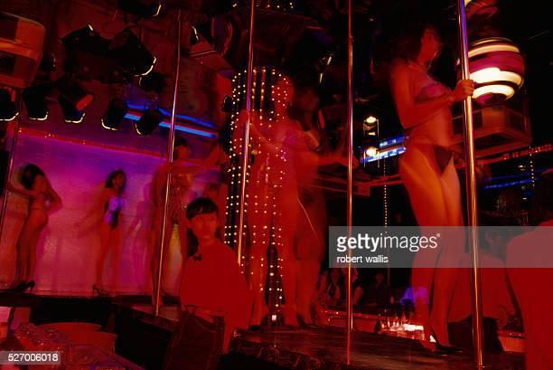GoGo Dancers Work in Thai Sex Club