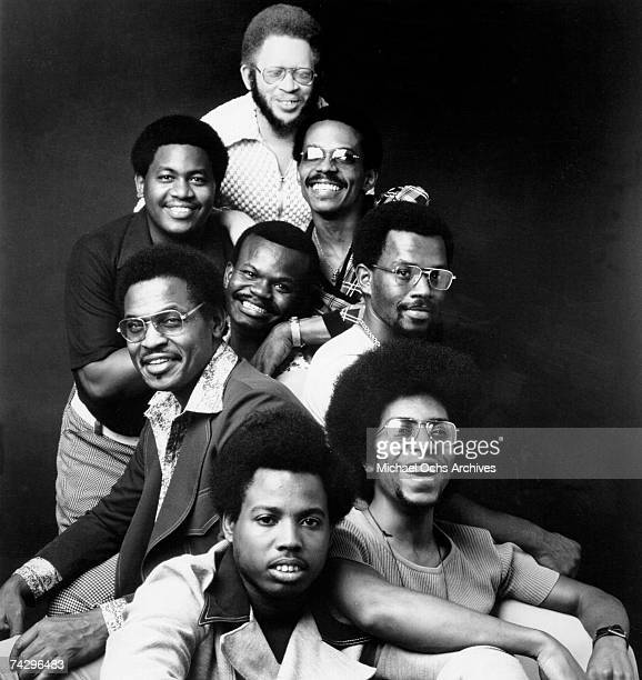 Gogo music group Soul Searchers including leader Chuck Brown pose for a portrait in circa 1974 Photo by Michael Ochs Archives/Getty Images