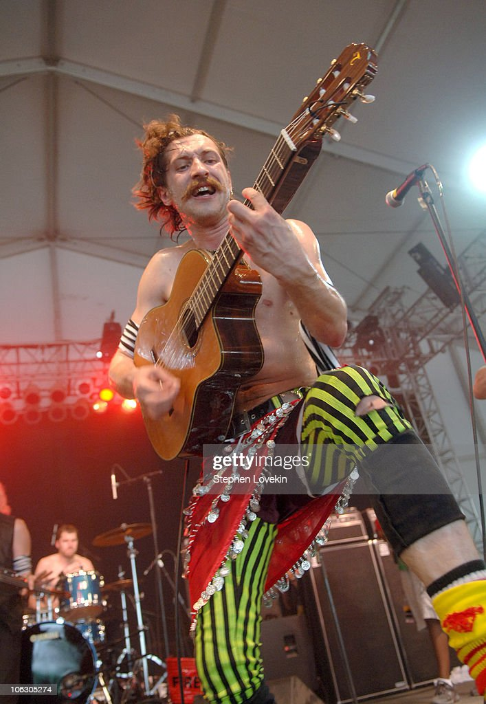 Gogol Bordello during Bonnaroo 2007 - Day 2 - Gogol Bordello at This Tent in Manchester, Tennessee, United States.