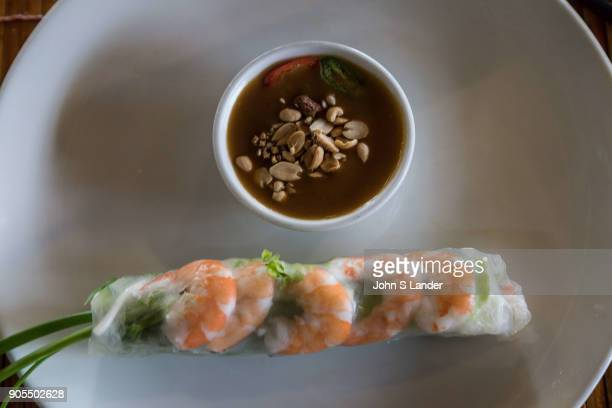 Goi Cuon Fresh Spring Rolls Goi cuon are usually called fresh Vietnamese spring rolls in English and are made up of rice paper small bits of pork...