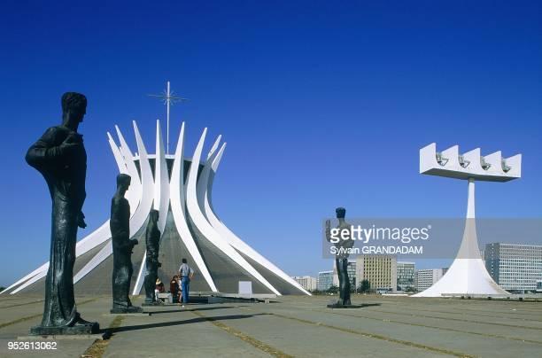Goias, Brasilia, Brazil, THE ADMINISTRATIVE CAPITAL CREATED PAR PRESIDENT KUBITSCHEK AND DESIGNED BY BRASILIAN TOWN PLANNER LUCIO COSTA & ARCHITECT...