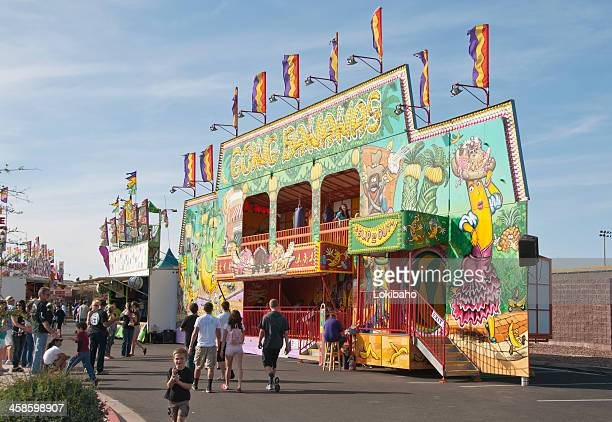 going bananas funhouse - fun house stock pictures, royalty-free photos & images