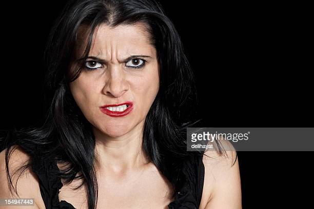 going crazy - very ugly women stock photos and pictures