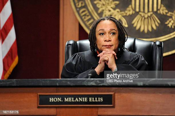 Going for the GoldJudge Ellis presides over the Justice Department's prosecution of Eli on THE GOOD WIFE Sunday March 3 on the CBS Television Network