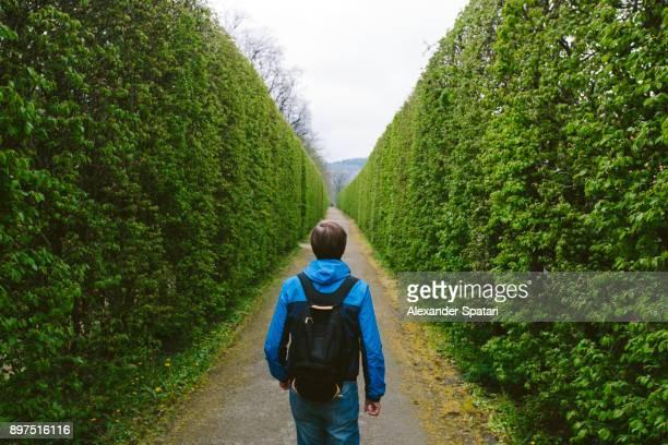 Going forward through the green maze