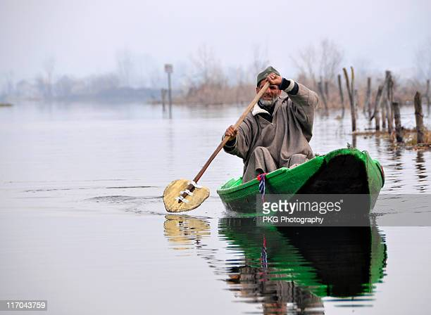 going home - kashmir stock photos and pictures