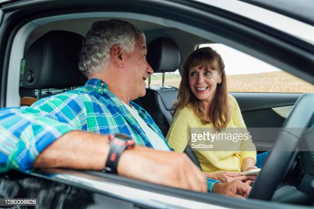 going on a road trip - wife stock pictures, royalty-free photos & images