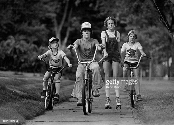 JUL 14 1980 JUL 19 1980 Going Places Ten wheels are better than eight as far as 13 yearold Christy Smith is concerned Christy hitches a ride behind...