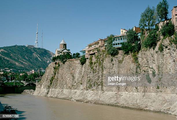 Going Tbilisi was built on the steep banks of the River Kura Georgia