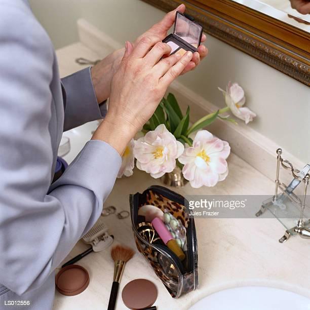 Going Through Make-up Bag